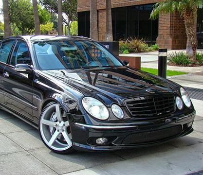 Замена линз Mercedes-Benz W211 покраска масок